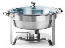 Hendi Gastro Chafing-Dish Rund Brennpaste Speisewärmer 3,5 Liter NEU