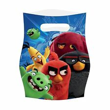 Angry Birds Movie Party Loot Bags - 8 pack