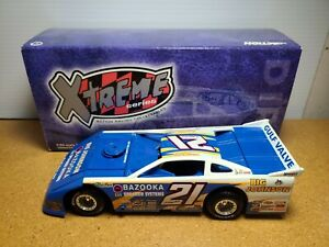 1998 Billy Moyer #21 Bazooka Big Johnson 1:24 Dirt Late Model Car Action MIB