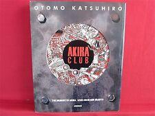 Akira club The memory of Akira lives on in our hearts! art book Katsuhiro Otomo