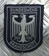 Genuine Vintage Germany Military Bundeswehr Brandschutz Braided Patch - APOR43E