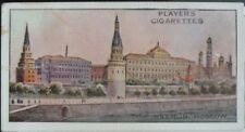 Single No.7 KREMLIN MOSCOW RUSSIA - WONDERS OF THE WORLD (Blue) Player 1916