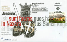 Spanish Architecture Postal Stamps