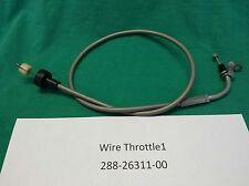 1971-72 Yamaha JT-1/JT-2 Mini-Enduro 60 Upper Throttle Cable 1 P/N 288-26311-00