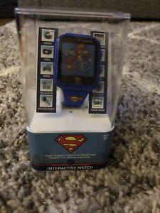 New In Box Kids Interactive DC Superman Smart Watch