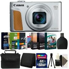 Canon PowerShot Sx740 Hs Digital Camera (Silver)+ 32Gb Memory Card Accessory Kit