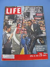 LIFE MAGAZINE APRIL 28 1958 WILLIE MAYS SAN FRANCISCO GIANTS NICE!!