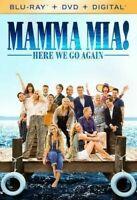 Mamma Mia Here We Go Again (Blu-ray,DVD,Digital) BRAND NEW - FREE SHIPPING ™