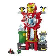 Super Hero Adventures Playskool Heroes Marvel Iron Man Headquarters NEW