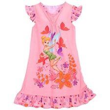 Disney Store Tinkerbell Tinker Bell Nightgown Nightshirt Sleepwear size 4