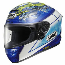 Shoei X-Spirit 2 Bautisa TC2 Full Face Motorbike Motorcycle Helmet Crash Blue L