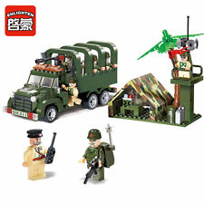 Hot Enlighten Combats Zone Military Detection Missile Vehicle Minifigures Toys