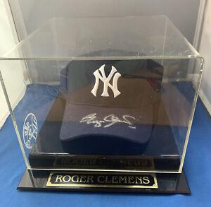 Roger Clemens Signed Autographed New York Yankees New Era 59/50 Cap Hat JSA