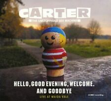 Carter The Unstoppable Sex Machine - Hello, Good Evening, Welcome (Live CD) NEW