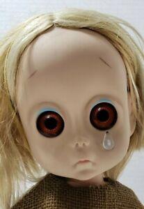1965 HASBRO Little Miss No Name Rare 1st Edition Has Tear Panties Pin & Headband