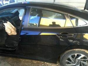 Driver Rear Side Door Electric US Market Sedan Fits 16-17 CIVIC 8378396