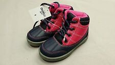 OSHKOSH B'GOSH TODDLER SIZE 8 PINK INSULATED SNOW BOOTS DURABLE WEATHER PROOF