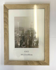 6x Wooden Timber MDF A4 Certificate Photo Frame Picture Glass Frame Bulk Sale