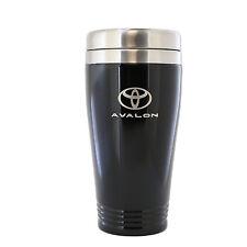Toyota Avalon Black Stainless Travel Mug