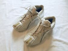 b5d0953f96ff Adidas Adiprene Torsion White Leather Basketball Shoes Mens US Size 10.5