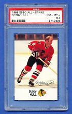 1988 ESSO ALL-STARS canada only BOBBY HULL blackhawks PSA 8.5 NM-MT+