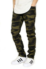 MEN'S CAMO TWILL STRETCH SKINNY JEANS 3 COLORS VICTORIOUS