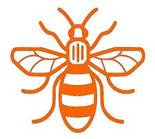 Manchester-Bee-Car-Van-Camper-Pick Up-Truck-Wall-Door-Art-Decal-Sticker.