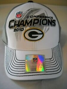 Green Bay Packers Cap  2010 Conference Champions  Super Bowl XLV. New with Tag