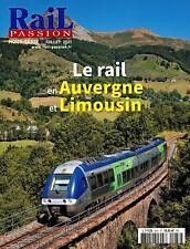 Rail Passion Hors Série N°38 - Revue neuve - Le Rail en Auvergne et Limousin