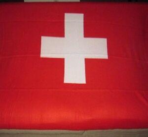 New Switzerland Swiss Country Flag Fleece Throw Git Blanket SOFT Cross Red WARM