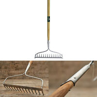 Garden Soil Rake Bow Heavy Duty Greenman Tools