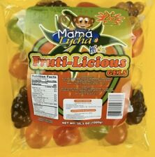 TIK-TOK CANDY SPECIAL EDITION Mama Lycha Fruti-Licious Fruit Jelly 1 Bag (25 CT)
