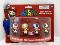 Nintendo Super Mario: Special Multi-Pack 4 Mini Figure Collection Toad (F2)