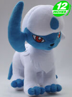 "12"" Wow Pokemon Absol Plush Doll Anime Stuff Toy Game PNPL9093"