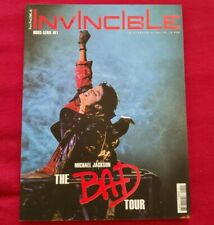 Michael Jackson - Invincible Magazine - The BAD Tour - no Promo