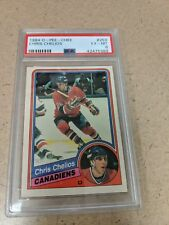 1984 85 OPC O PEE CHEE #259 CHRIS CHELIOS ROOKIE PSA 6MINT CANADIENS rc