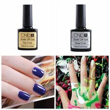 New Base Coat And Top Coat UV Soak Off Gel Long Lasting Polish Nail Gel 10ML