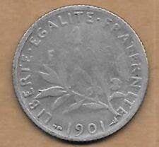 1 Franc argent La Semeuse 1901