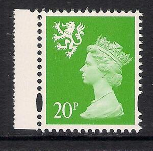 Scotland 1998 S90a 20p photo. right band perf. 14 booklet stamp MNH