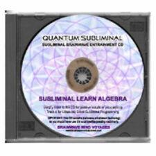 SUBLIMINAL LEARN ALGEBRA-SLEEP LEARNING AID MATH SKILLS