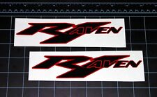 R1 - R6 RAVEN decals stickers yzf mororcycle MotoGP Moto2 racing Fits : Yamaha