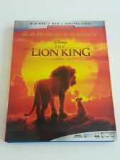 LION KING (BLU-RAY + DVD ) No Digital  Code.