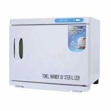 Towel Warmer and UV Sterilizing Light Nail Spa Beauty Salon Equipment Heater 23L