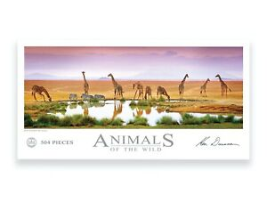 Animals of the Wild by Ken Duncan - Fountain of Life 504 piece Jigsaw Puzzle