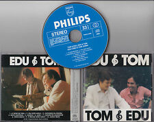RARE CD 10T TOM & EDU, EDU & TOM EDU LOBO ET TOM JOBIM MADE IN JAPAN PHCA-4208