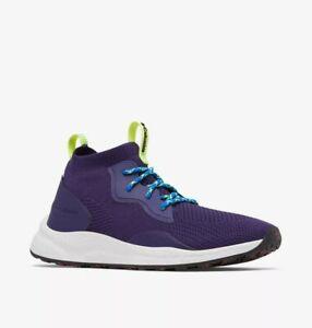 Columbia SH/FT Mid Breeze men's hiking shoes size 12 deep purple BM0082-527 NEW