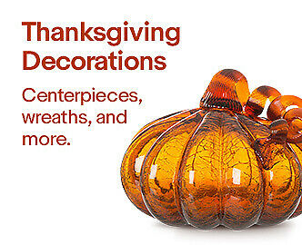Thanksgiving Decorations | Centerpieces, wreaths, and more.