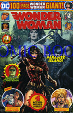 WONDER WOMAN #1,harley quinn,100 PAGE GIANT WALMART EXCLUSIVE DC COMIC BOOK