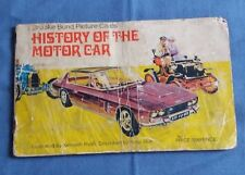 Brooke Bond History of the Motor Car Complete Official Album Tea Cards (43 Card)