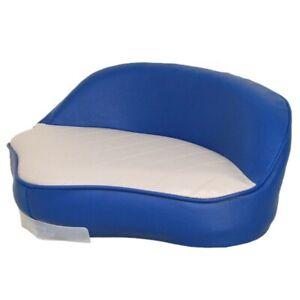 Custom Boat Deluxe Casting Seat 75125GB | Blue Gray